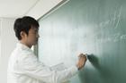 授業中の教師