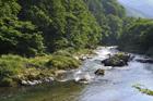 山形 小国川