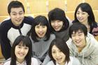 教室の学生たち