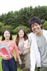 笑顔の学生達
