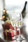 クリスマスイメージ シャンパン