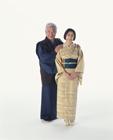 着物の老夫婦