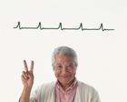 心電図と中高年男性