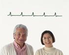 心電図と老夫婦