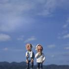 青空と老夫婦,クラフト