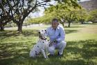 犬とシニア男性