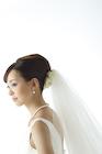 ウエディングドレスの花嫁