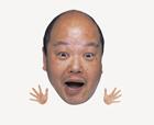顔アップ合成イメージ・ミドル男性