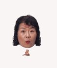 顔アップ合成イメージ・ミドル女性