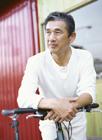 自転車とミドル男性